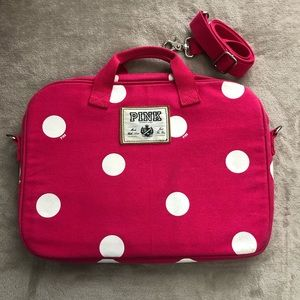 Victoria's Secret PINK Polka Dot Laptop Case